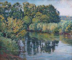 Václav Radimský - Banks of the River