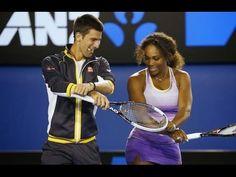 """""""Novak Djokovic: Hilarious Moments II - YouTube"""" He really is adorable :) ."""