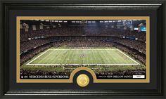 "AAA Sports Memorabilia LLC - New Orleans Saints ""Stadium"" Bronze Coin Panoramic Photo Mint, #neworleanssaints #saints #nfl #nflcollectibles #sportscollectibles $59.99 (http://www.aaasportsmemorabilia.com/nfl/new-orleans-saints-stadium-bronze-coin-panoramic-photo-mint/)"