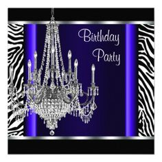 >>>The best place          	Chandelier Royal Blue Zebra Birthday Party Personalized Invitations           	Chandelier Royal Blue Zebra Birthday Party Personalized Invitations lowest price for you. In addition you can compare price with another store and read helpful reviews. BuyDeals          ...Cleck Hot Deals >>> http://www.zazzle.com/chandelier_royal_blue_zebra_birthday_party_invitation-161469652920777885?rf=238627982471231924&zbar=1&tc=terrest