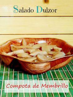 Salado Dulzor: Compota de Membrillo