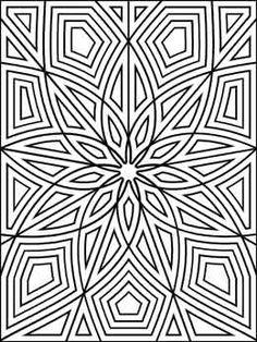 Geometrip.com - Free Geometric Coloring Designs - Rectangles