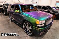 painted cars pictures | ... paint, color changing car paint, color change paint, sema 2010, car