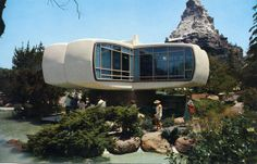 Monsanto's House of the Future Disneyland CA  Inside this unique home, plastics play an important part in progressive accomplishments for be...