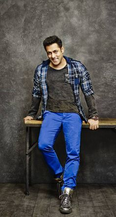 Salman Khan featuring in Being Human Clothing's AW14 Campaign