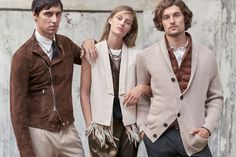 All the latest men's fashion lookbooks and advertising campaigns are showcased at FashionBeans. Click here to see more images from the Brunello Cucinelli Spring/Summer 2015 Men's Lookbook