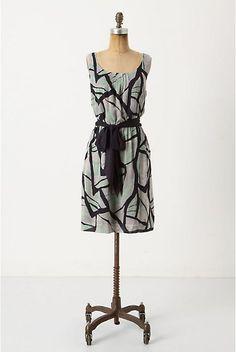 Anthropologie Damselfly Dress size m