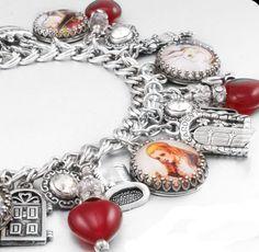 Alice in Wonderland Charm Bracelet, The Red Queen