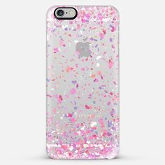 Love Confetti Explosion Transparent iPhone 6 Plus Case by Organic Saturation | Casetify. Get $10 off using code: 53ZPEA