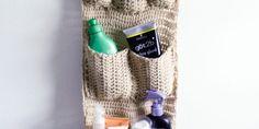 Crochet Wall Organizer Pattern Free - Purl Moon Co. Blog