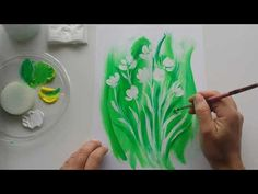 12 minutes to slow down; a small #flower #painting with written info in th...