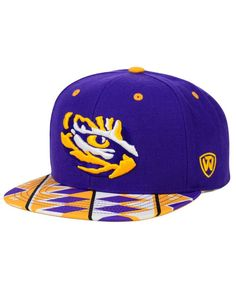 half off 08574 15fa5 Top of the World LSU Tigers Tribe Snapback Cap   Reviews - Sports Fan Shop  By Lids - Men - Macy s