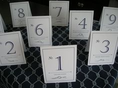 Tie the Knot Nautical Place Cards by FarahAlease on Etsy, $32.00