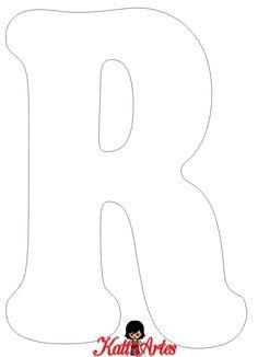 Alphabet Letter Templates, Alphabet Stencils, Printable Letters, Alphabet And Numbers, Felt Crafts, Diy And Crafts, Felt Name, Felt Decorations, Cross Stitch Alphabet