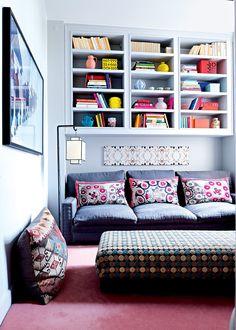 Un petit salon aux mille couleurs