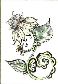 Sun Energy ATC1 by SharonAnn53, via Flickr♥♥ - I think this would make a nice tattoo, kinda girly!