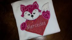 Valentines Fox Shirt FREE SHIPPING by SouthernBlingBowtiqu on Etsy, $23.00