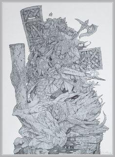 Dwarves by ~NapalmDruid on deviantART