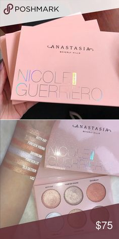 SOLD Anastasia Beverly Hills Nicole Guerriero Brand new in box. 100% authentic. Will ship with lots of bubble wrap to protect it from breaking or smashing while in transit. Please leave all irrelevant comments to yourself. Thank you.  I accept p a y p a l & v e n m o for $60 shipped. Sephora Makeup Luminizer