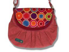 Maman écolo hippie chic - Joli sac fabriqué artisanalement en Inde, teintures naturelles - Rêvenciel
