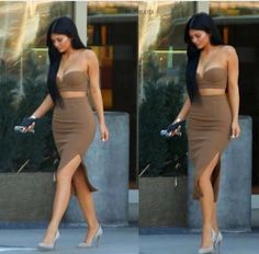 Earlier this week Kylie Jenner Pictures, Kylie Jenner Look, Kendall And Kylie, Kendall Jenner, Skirt Fashion, Fashion Outfits, Fashion Trends, Trending Fashion, Fashion Killa
