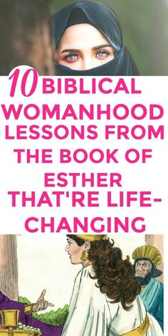 Totally LOVED these 10 hidden GEMS from the Book of Esther! I'm SO glad I found this GREAT 10 Biblical womanhood lessons from the amazing book of Esther. I'm MIND-BLOWN. Every Christian woman must know this! Glory to God! #bookofEsther #Biblicalwomanhood | Biblical women | Biblical womanhood | Biblical Esther | Women's Bible studies