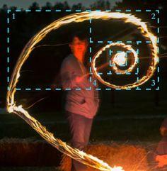 Fibonacci of FIRE! Fibonacci Spiral, Fractals, Geometry, Fire, Artist, Nature, Naturaleza, Artists, Golden Ratio