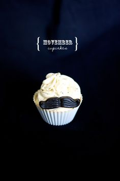 """Movember"" Licorice and Whiskey Cupcakes Recipe"