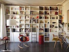 La bibliothèque à échelle; faites grimper votre déco