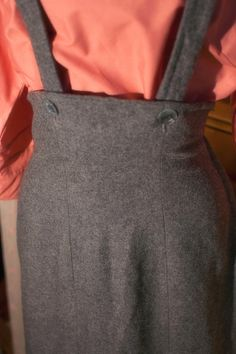 40's/50's VTG Grey Wool Jumper by TheTarrowBoutique on Etsy, $74.00