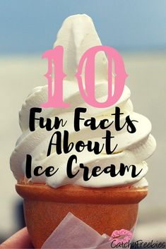 Click to read these 10 fun facts about ice cream - like how it's actually good for you!