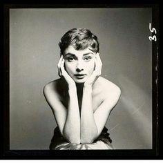 "Audrey Hepburn photographed by Richard Avedon, 1953 #AudreyHepburn #RichardAvedon""ä"