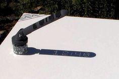 A sundial for the modern world.