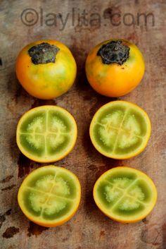 Descubrir una nueva fruta y su sabor, en este caso el lulo, naranjilla, obando, coconilla o nuquí :)