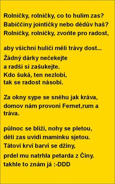 Rolničky, rolničky, co to hulim zas? | torpeda.cz - vtipné obrázky, vtipy a videa Funny Texts, Funny Jokes, Jokes Quotes, Memes, Can't Stop Laughing, Good Jokes, Funny Wallpapers, Adult Humor, Funny Pins