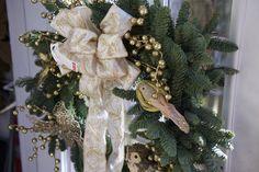 Custom Designed Live Wreath #Christmas #wreath