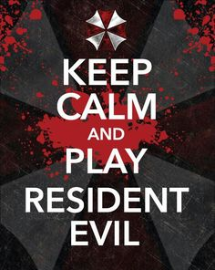 Girl Power Day- Keep Calm and Play Resident Evil Tyrant Resident Evil, Resident Evil Game, Videogames, Albert Wesker, Evil Games, Umbrella Corporation, Horror Video Games, Live Action Film, Keep Calm Quotes