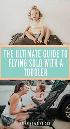 The Ultimate Guide To Flying Solo With A Toddler - Flying with a toddler is HARD. But there are so many ways to make it easier. Here are my top tips for flying with a toddler (without all the stress). Toddler Travel, Travel With Kids, Family Travel, Parenting Toddlers, Parenting Advice, Flying With A Toddler, Road Trip With Kids, Baby Hacks, Mom Hacks