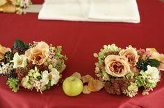 元代々木ハウス様の装花 オードリーとジュリア  : 一会 ウエディングの花