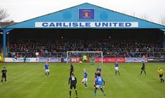 After the terrible floods in December, Carlisle United were taking on York City on their re-turfed pitch on Saturday 23 January.