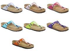 Birkenstock Gizeh Sandals Birko-Flor special edition - EUR 35 - regular - Pink - Birko-Flor Lack Birkenstock,