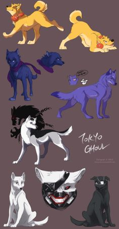 Tokyo Ghoul Dogs by FairysCat on DeviantArt