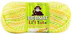 Bernat Li'l Tots Yarn, 3.5 Ounce, Daffodils