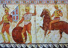 Sunni representation of warriors Anonymous 4th century BC painter.