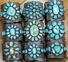 Vintage Native American cuffs