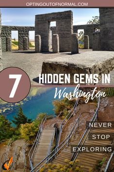Washington state has some amazing little hidden gems. We were able to explore so many! This is updated for 2020 when we found some more! We share tips and ideas along with photos of some amazing…More Adventure Time, Adventure Travel, Adventure Tattoo, Adventure Couple, Adventure Quotes, Washington Things To Do, Places To Go In Washington State, Living In Washington State, Washington Apple