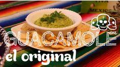 Receita de Guacamole original mexicana, preparada pela Luanda em uma festinha temática e super divertida!