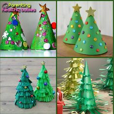 Most creative Christmas tree ideas for kids  #Christmas #Christmastree