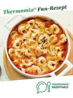 Tortellinigratin der Beste von Jennifer27. Ein Thermomix ® Rezept aus der Kategorie Hauptgerichte mit Gemüse auf www.rezeptwelt.de, der Thermomix ® Community.