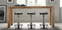1000 Images About Modern Kitchen Bar Stools On Pinterest
